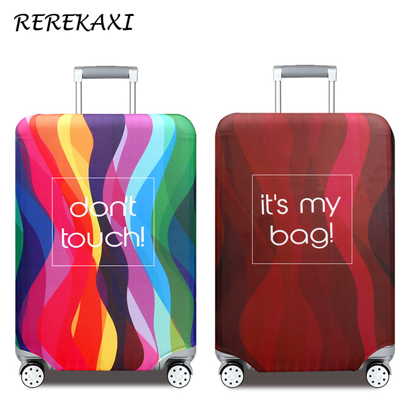 Thicker Travel Suitcase Case Cover Travel Accessories 19-32 Inch Elastic Luggage Covers Trolley Case Dust Protective CoverThicker Travel Suitcase Case Cover Travel Accessories 19-32 Inch Elastic Luggage Covers Trolley Case Dust Protective Cover