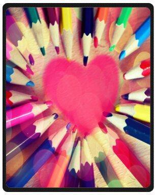 online shop free shipping custom special design funny rainbow crayon