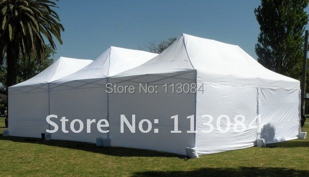 FREE SHIPPING ! Super strong 40x40x2.0mm aluminum 10ft x 20ft Easy-Up marquee tent for party, wedding, trade show and events все цены