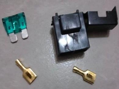 Inserted In A Lot Of Car Fuse Lighters Fuse Holder Box Number Fuse Holder With Two Terminals