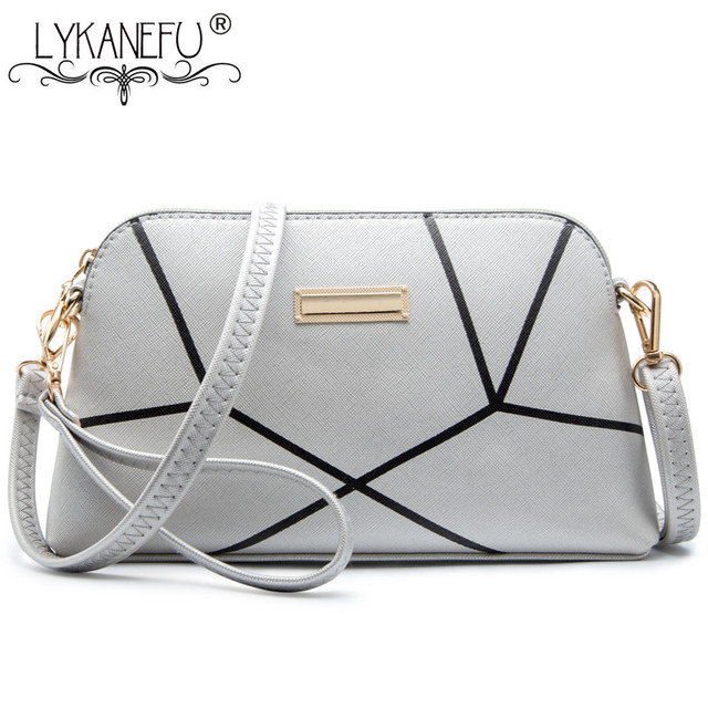 c12e18ff885f LYKANEFU New Shoulder Bag Handbags Women Messenger Bags Long Strap Shell  Pattern Women Clutches Bolsas Femininas Dollar Price