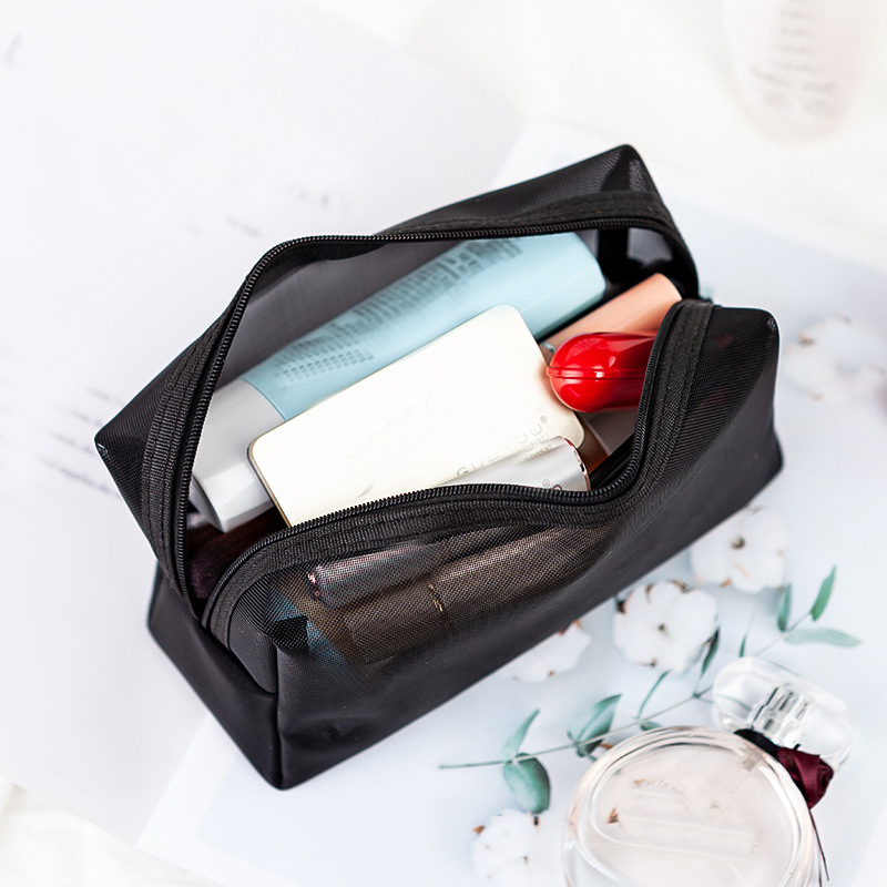 Transparent Travel Cosmetic Pouch- Travel With Jaiden