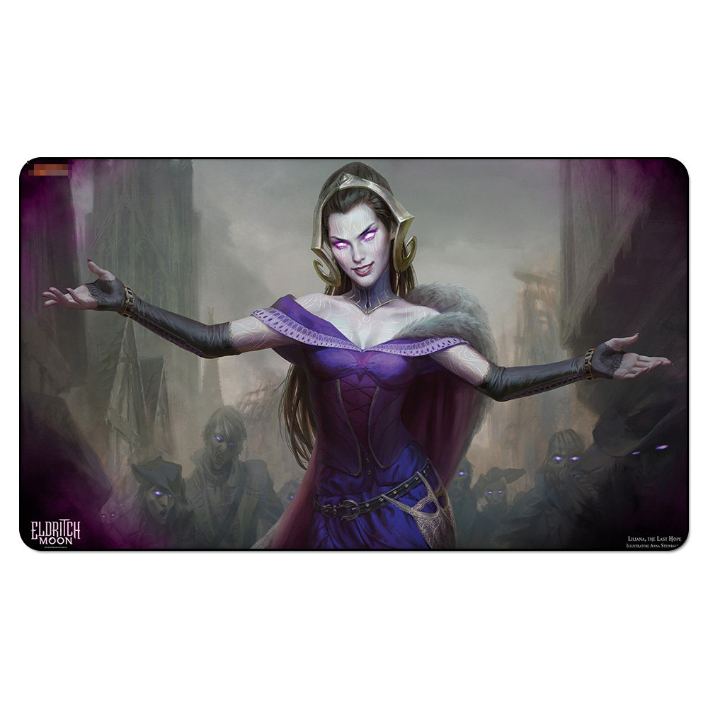 Magic Board Game Liliana The Last Hope Eldritch Moon Table Mousepad Mgt Big Pad Tcg Cards Ygo Play Mat Playmats With Storage Bag