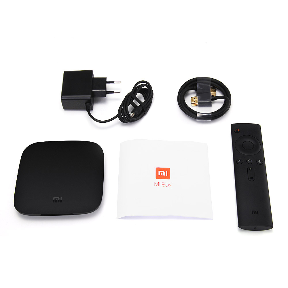 Купить с кэшбэком IPTV France Arabic QHDTV Xiaomi MI Box 3 Android TV 8.0 2G+8G Support BT Dual-Band WIFI Google Certified Xiaomi no app included