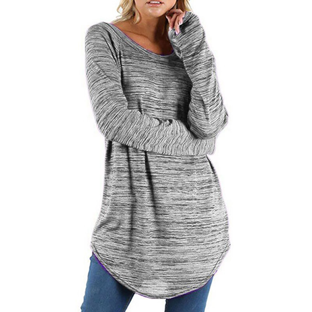 Plus Size 5XL Womens Tops And Blouses Feminine Autumn 2018 Elegant Long Sleeve Long Blouse Ladies Top Tunic Woman Clothes