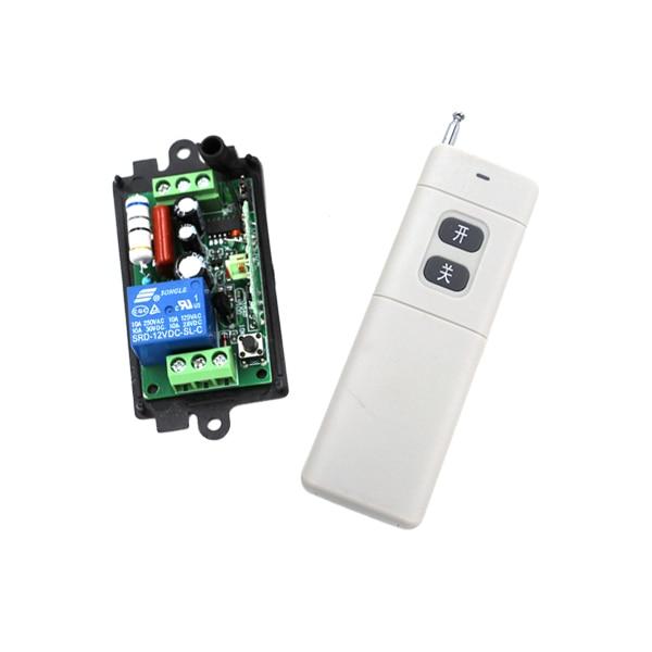 Freies verschiffen Inter-lock ON/OFF AC110V 220 V 10A Drahtlose Fernbedienung Schalter 1 Controller Für Licht lampe SKU: 5224