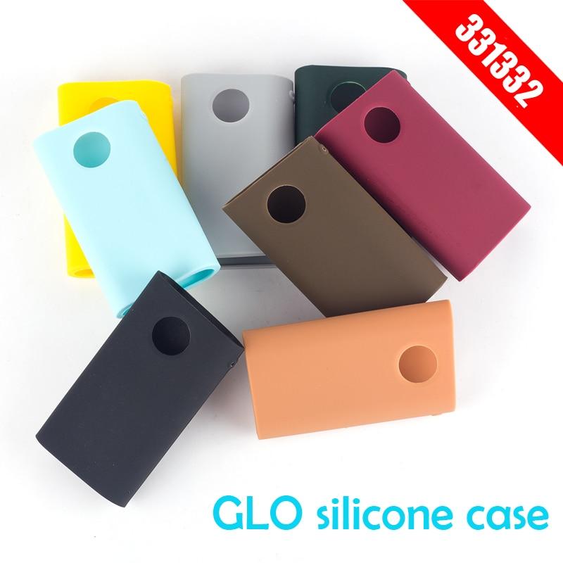 Hot vape accessories protective cover 8 colors silicone Case For GLO E Cigarette Protective Cover