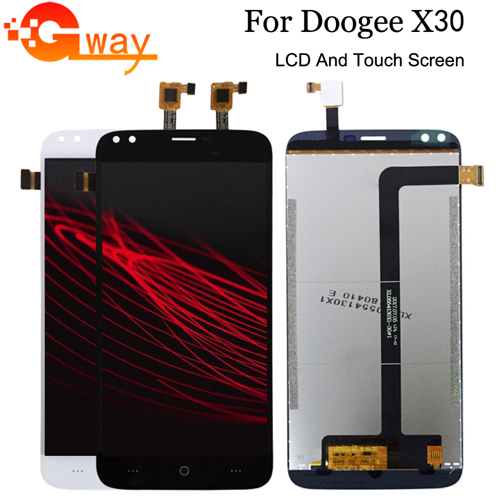 For 5.5 Inch Doogee X30 LCD Display+Touch Screen 100% Tested Screen Digitizer Assembly Replacement+Free Tools