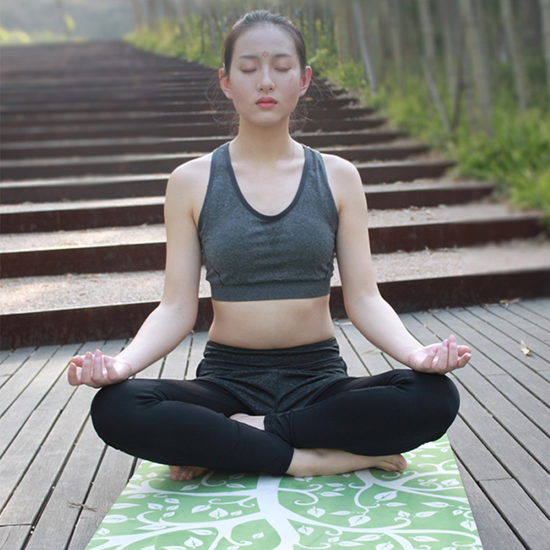 New Arrival 183cm*66cm*4mm Natural Rubber+Suede Non-Slip Exercise Fitness Sweat Absorption Mat Yoga Mat Tapete Yoga Gym Mat advanced rubber yoga mat pad exercises mat pad non slip sweat absorbent home gym fitness yoga exercises sports mat 183 68 0 5cm