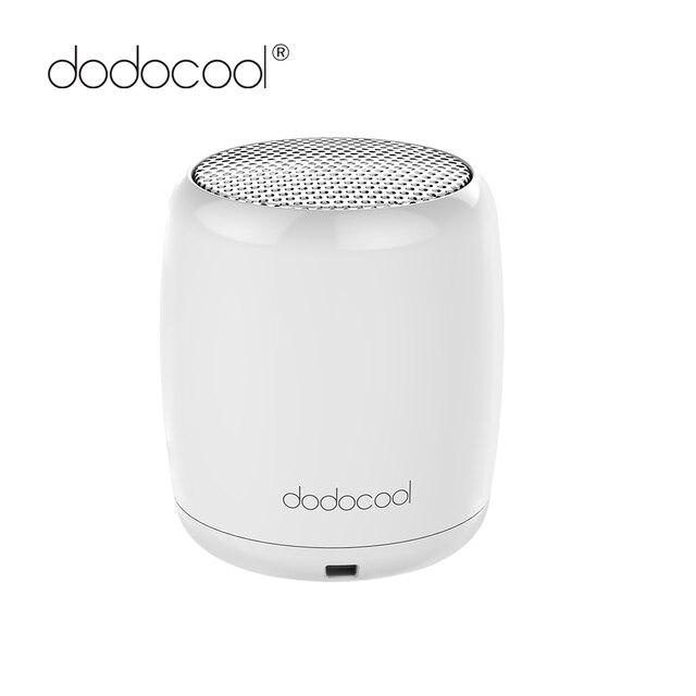 dodocool Mini Portable Bluetooth Speaker Portable Stereo Handsfree Music Square Box Mini Wireless Speaker for Compute Phone PC
