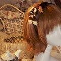 Японский harajuku сладкая лолита головные уборы обруч берри пончик косплей печенья повязка на голову ну вечеринку аксессуар