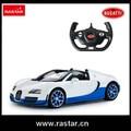 Rastar licensed Bugatti 1:14 ABS material plástico componente eletrônico de Controle Remoto rc carro 70400