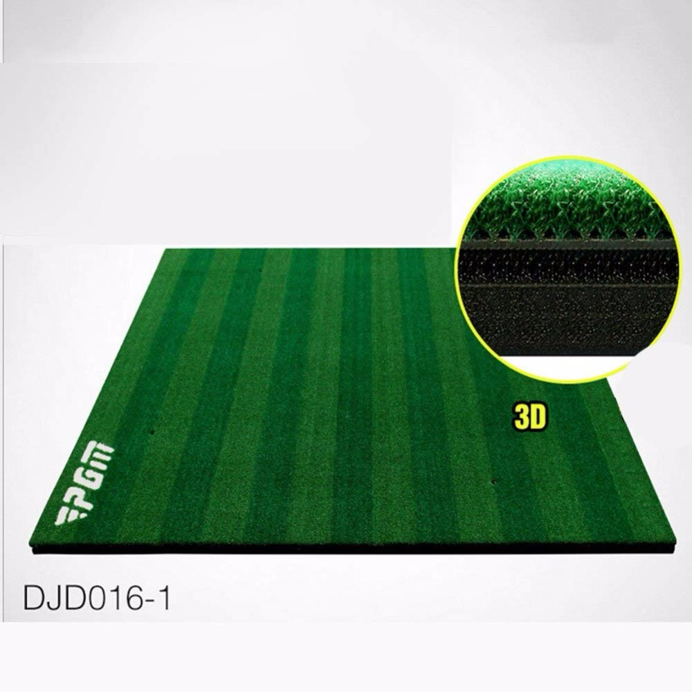PGM 4.92 ft x 4.92 ft Golf Hitting Mat Golf Practice Mat Golf Tranig Aids blue wave 18 ft x 40 ft 12yr mesh safety green