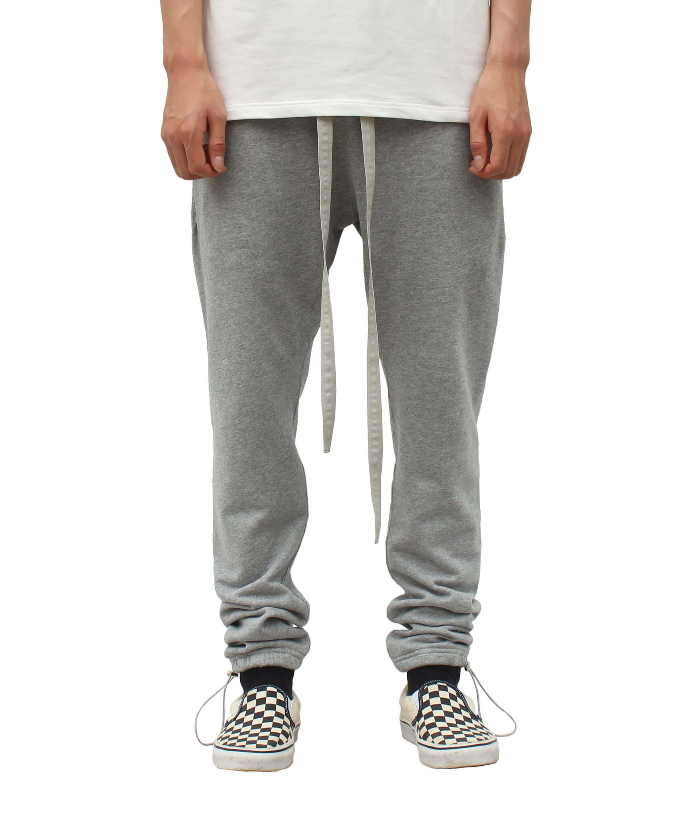 QoolXCWear 19SS Latest High Street Hip-hop Fog Style Season 6 Jerry Sweatpants Slim Fit Cotton Leisure Trousers Streetwear Pants