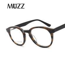 MUZZ 2018 Óculos Mulheres Óculos de Armação Circular óculos de Alta  qualidade Homens Marca Tarja Designer De Quadros de Miopia A.. 593175e8f5