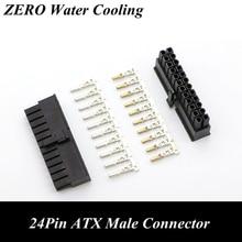 4,2 мм 5557 ЦП 24Pin ATX Штекерный разъем с 25 контактами для ПК