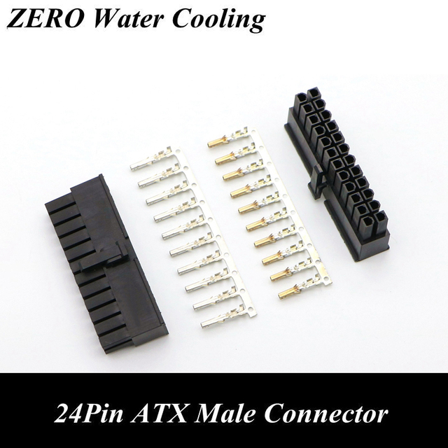 5557 cpu 24pin atx male connector with 25pcs. Black Bedroom Furniture Sets. Home Design Ideas