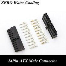 Conector macho ATX de 24 pines para CPU, 4,2mm, 5557, con 25 uds., pines de terminales para modelado de PC
