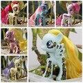 8 см Новая версия Удивительным Пони ПВХ Игрушки для Детей Каваи Милый Единорог Пони Аниме Рисунок Коллекция Игрушек Девушка День Рождения подарок