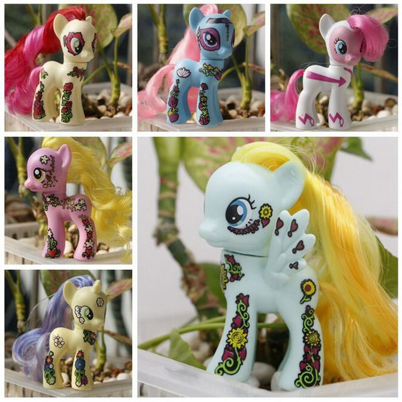 Online Buy Wholesale plastic unicorn toys from China