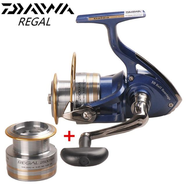 Original DAIWA REGAL Spinning Fishing Reel 2000XIA 2500XIA 3000XIA 4000XIA Size With Double Spool 10BB 5.3:1 Pesca Moulinet