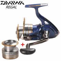 Oryginalny DAIWA REGAL Spinning Fishing Reel 2000XIA 2500XIA 3000XIA 4000XIA rozmiar z podwójną szpulą 10BB 5.3: 1 Pesca Moulinet