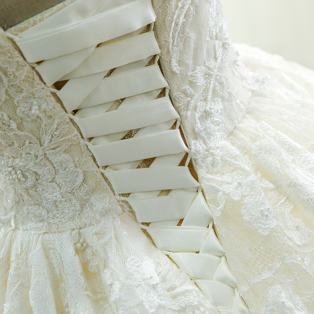 Image 5 - SL 221 New Arrival Sweetheart Neck Lace Wedding Dress 2017lace wedding dresswedding dresswedding dress 2017 -