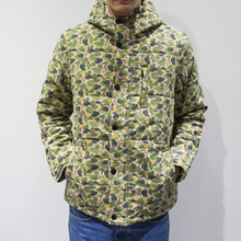 2015 new winter camouflage hoodie coat short slim men students thickened Mianfu