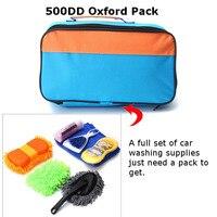 يونيفرسال السيارات الداخلية الخارجي أدوات تنظيف كيت تشمل الإسفنج + فرشاة + قفاز + حزمة + منشفة