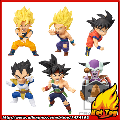 100% Original Banpresto WCF Complete Collection Figure  BATTLE OF SAIYANS Vol.1 - Full Set of 6 Pieces from Dragon Ball Z secret warriors the complete collection volume 1