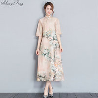2019 summer long cheongsam dress modern qipao dress sexy chinese dresses chinese traditional dress vestido oriental qipao Q824