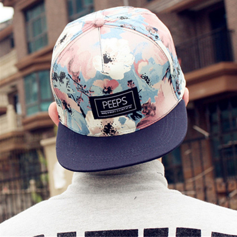2017 New Fashion PEEPS Baseball Caps Snapback Flat Brim Hat Street Dance Gift Hip Hop Hats for Men and Women цены онлайн