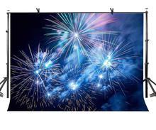 150x210cm Splendid Fireworks Backdrop Life Like Gorgeous Beauty Photography BackgroundPhoto Screen