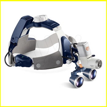 5W LED Surgical Head Light dental Lamp All-in-Ones Headlight with loupes 2.5X , 3.5X