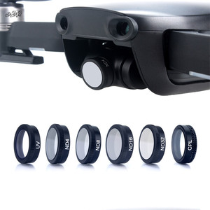 Image 1 - 6 teile/satz Filter ND4 ND8 + + ND16 + ND32 + UV + CPL ND Filter Optische glaslinse Für DJI Mavic Luft Drohne Zubehör