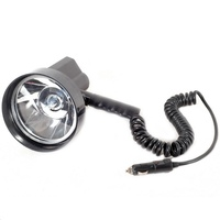 12V 24V 100W HID 5inch Xenon Handheld Super Light Spotlight Emergency Light For Camping Hunting Fishing