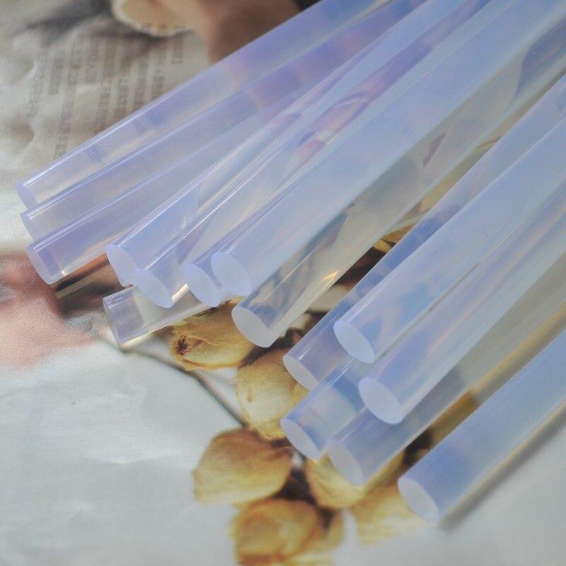 Image 5 - PROSTORMER 10Pcs 7mm x 100mm transparent hot melt glue stick electric glue gun product repair tool accessories car-in Hot Melt Glue Sticks from Tools