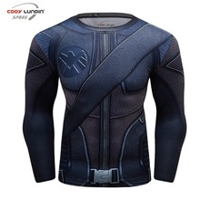 Compression shirt 3D Printed marvel Superhero Fitness Crossfit Man T-shirt Cosplay Male Plus Size Bodybuilding Tops(China)