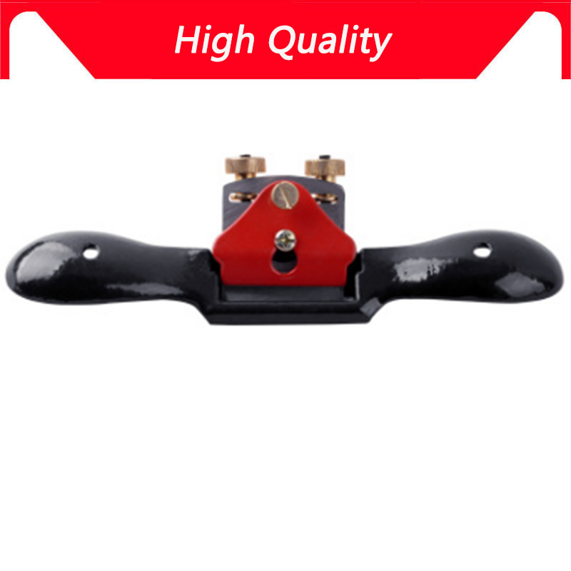 High Quality Metal Blade Spoke Shave Plane Adjustable Wood Craft Spoke Shave Plane For Woodworking Hand Tools NEW thumb brass maple blackwood convex bottom planes violin making woodworking tool luthiertools craft plane