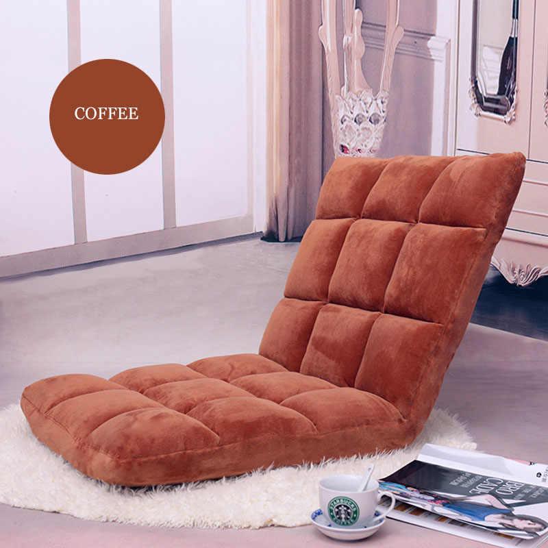 Складной диван для гостиной, Одноместный минималистичный, Современная гостиная, регулируемая мебель для дома, 11 цветов, диван-кровать для ленивых, рядом с окнами