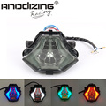 INTEGRATED RED BLUE GREEN WHITE Motorcycle LED Tail Light SMOKED FOR YAMAHA R3 2015-2016 R25 2014-2015 MT-07 FZ-07 14-15