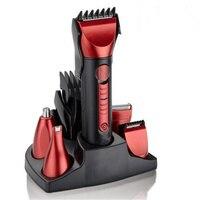 حار بيع 5in1 ماء قابلة الشعر ماكينة حلاقة اللحية المقص كيت أدوات حلاقة مقص الكهربائية الأنف الأذن نظيفة للرجال
