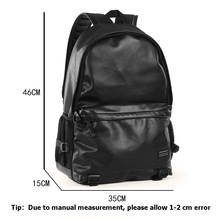 BTS Luminous PU Leather Backpack