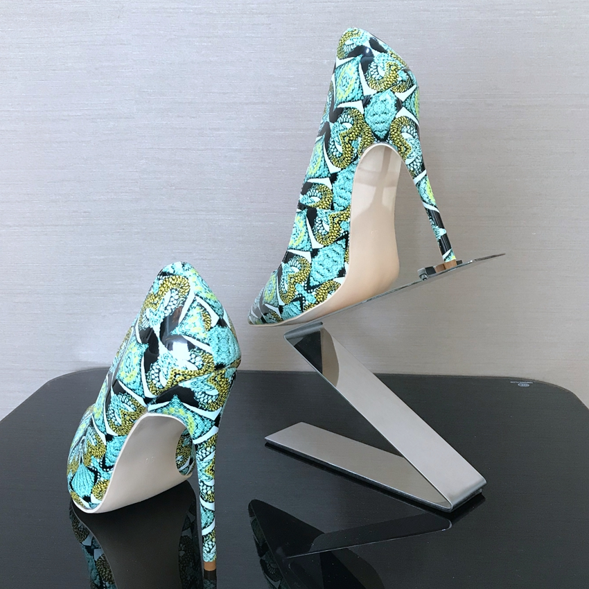 Woman Pumps Pointed Toe High Heel Shoes Women Snake Printed Leather Ladies High Heels Party Dress Basic Shoes Wedding Womens