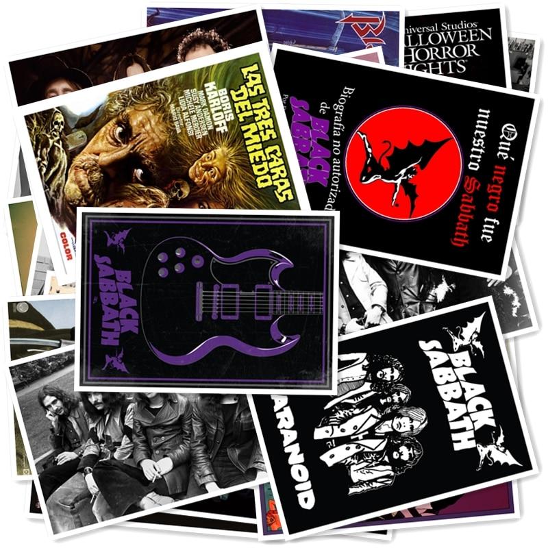 B1-2#  BLACK SABBATH Classic Series Sticker 20/pcs PVC Art Crafts Collection Gift Wall Design Sticker Graffiti