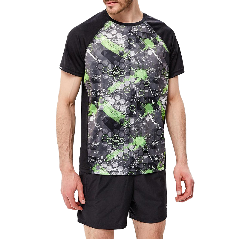 T-Shirts MODIS M181S00162 t shirt shirt for male TmallFS plus size ombre floral empire waist t shirt