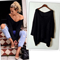 New  Arrival !! Sexy Women Knitted Oversized Baggy Sweater , Long Sleeve Jumper Tops fashion gilrs, nice gift