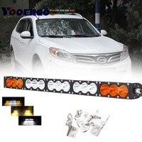 27''150W двойной цвет Янтарный/белый беспроводной пульт дистанционного управления светодиодный свет бар внедорожный 4WD 4X4 для Jeep Грузовик трак