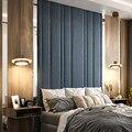 Простая Подвеска у кровати для спальни  светильники для столовой  спальни  кухни  подвесные светильники  блестящие светодиодные плафоны  По...