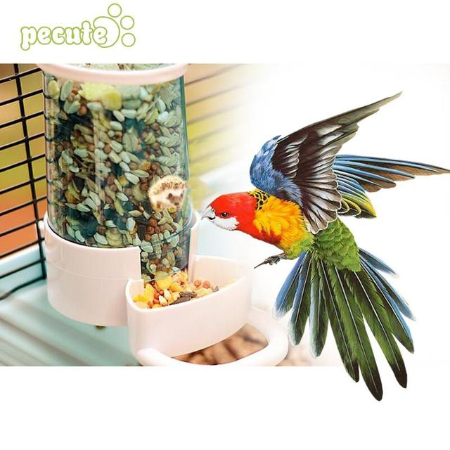 Pet Bird Automatic Drinker Feeder Water Dispenser Clip Large Parrot Hedgehog